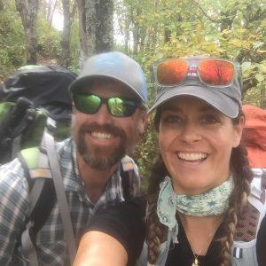 sober backpacking adventure mountains north carolina