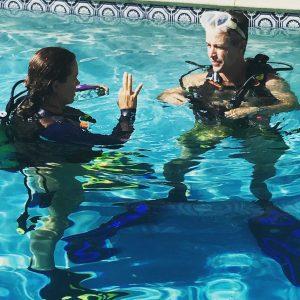 sober scuba diving vacation