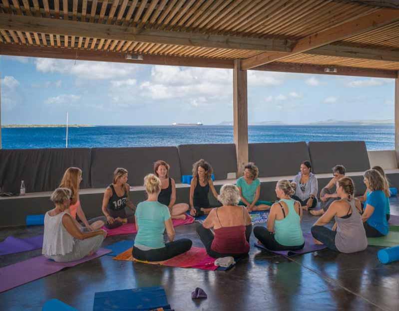 sober yoga trip