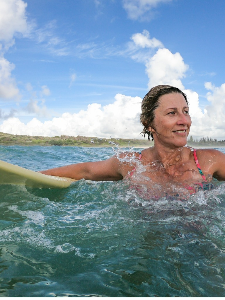 Costa Rica surf experience for women all ages